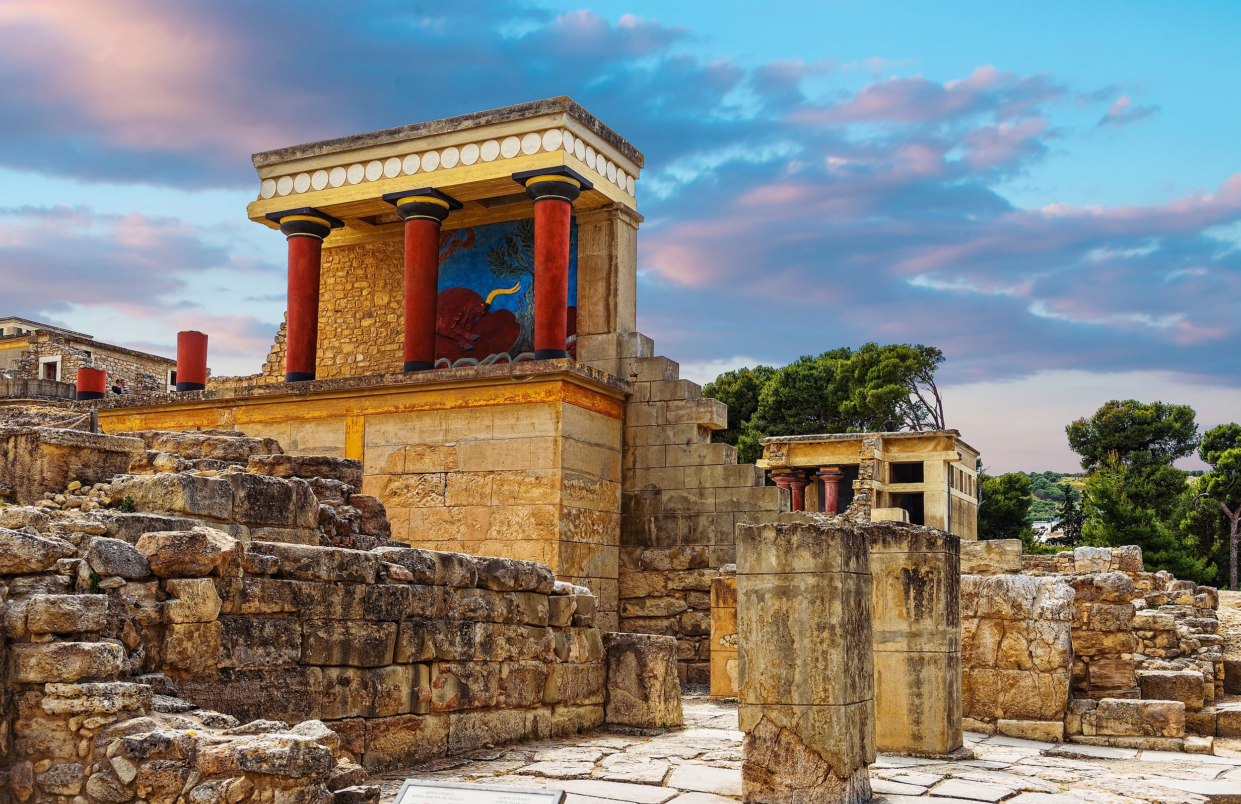From Heraklion: Full-Day Knossos & Heraklion Tour Guided English and German